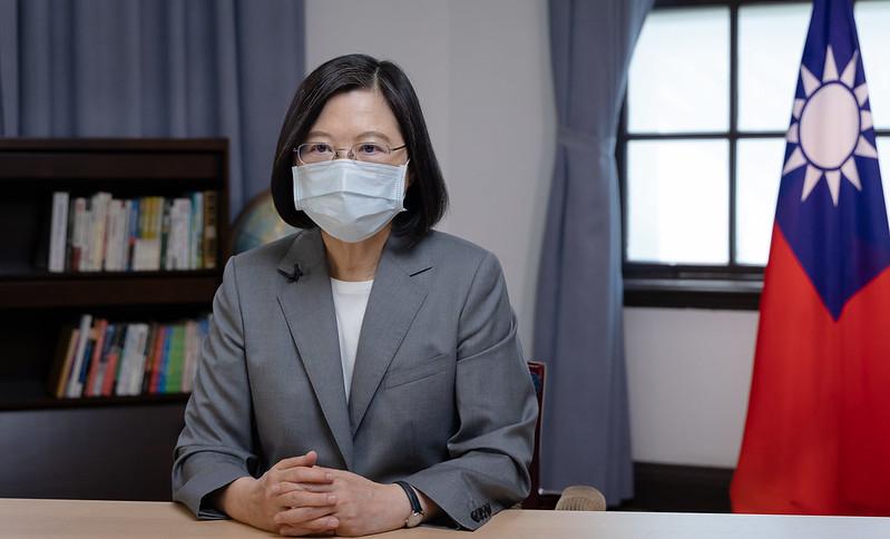 蔡英文:台灣可成為促區域和平發展中堅力量
