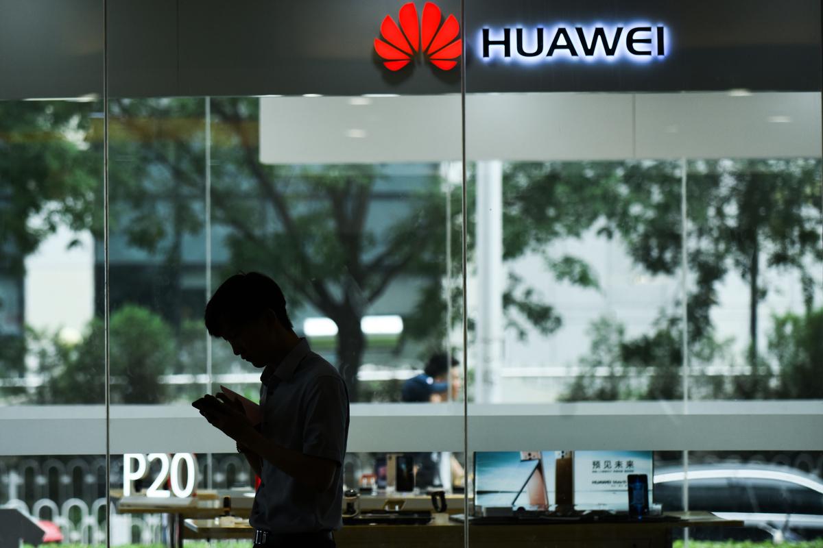 繼美國、澳洲禁用華為的5G技術後,英國德國等也有意跟進。圖為示意照。 (AFP)