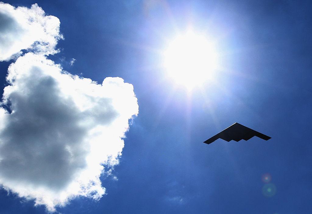 美國B-2轟炸機 (Jonathan Daniel/Getty Images)