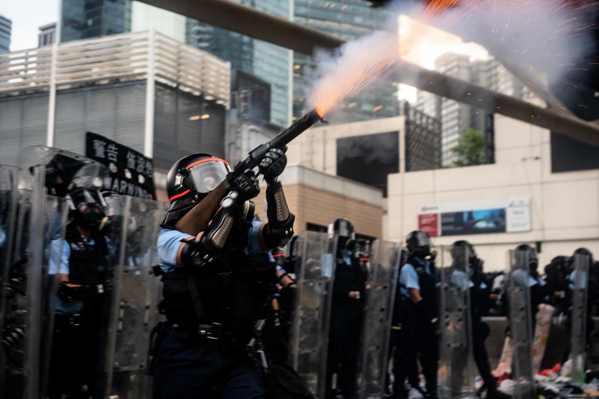 香港百萬人反對修訂《引渡條例》,攸關全球華人,台灣更需警醒。(Anthony Kwan/Getty Images)