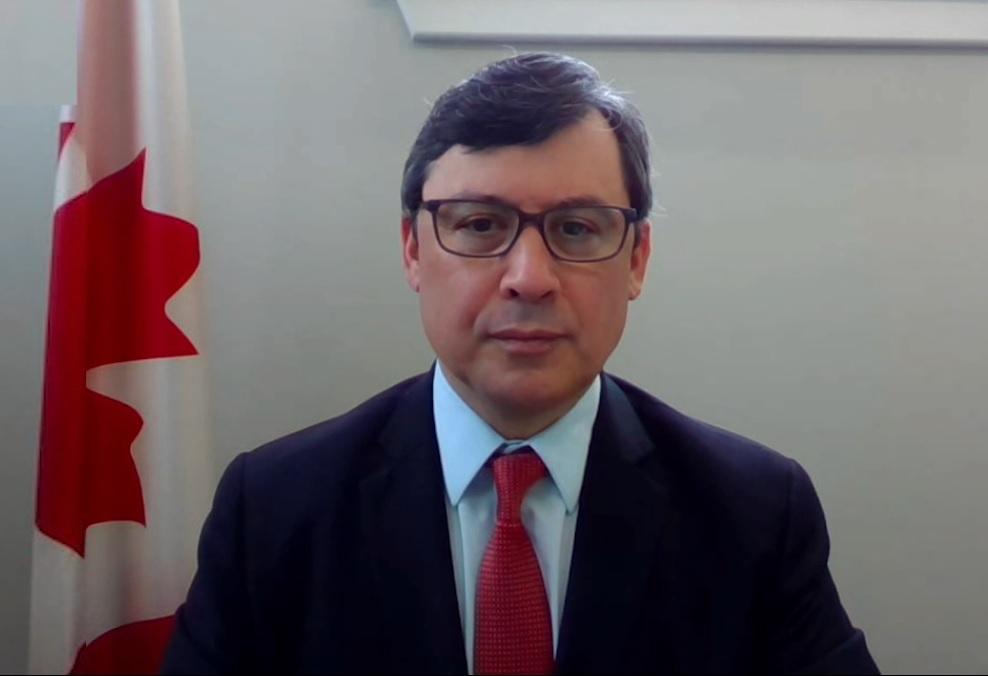 加拿大國會外交委員會副主席莊文浩(Michael Chong)多次呼籲政府制裁中共。(影片截圖)