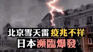 【拍案驚奇】北京雪雷預兆不詳 當街倒斃解因