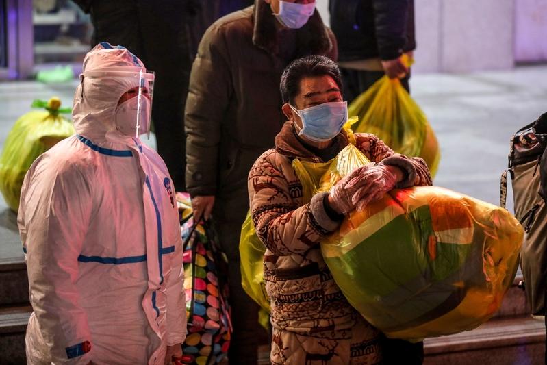 日媒:習訪武漢前後 大量有症狀患者被出院