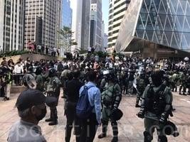 【11.13反暴政直播】港民中環聲援中大學生
