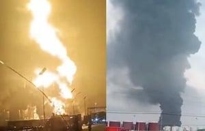 河北滄州一石化公司著火 一公里內企業停產