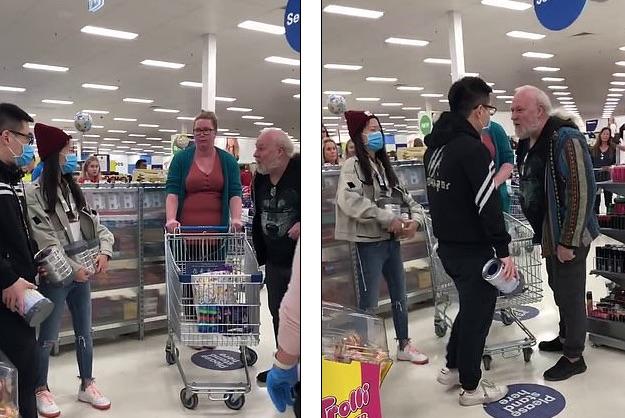 華人男女大鬧澳洲超市 為奶粉欲毆老人