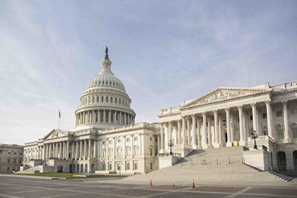 圖為美國國會大廈。(Samira Bouaou/大紀元)