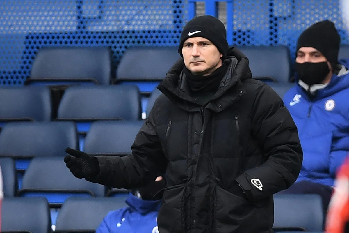 英超豪門車路士(Chelsea)宣佈主教練林柏特(Frank Lampard)離任。(DANIEL LEAL-OLIVAS/AFP via Getty Images)