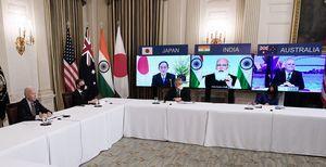 對抗中共疫苗外交 美日澳印四國分工合作
