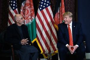 感恩節突訪阿富汗 特朗普宣佈恢復塔利班和談