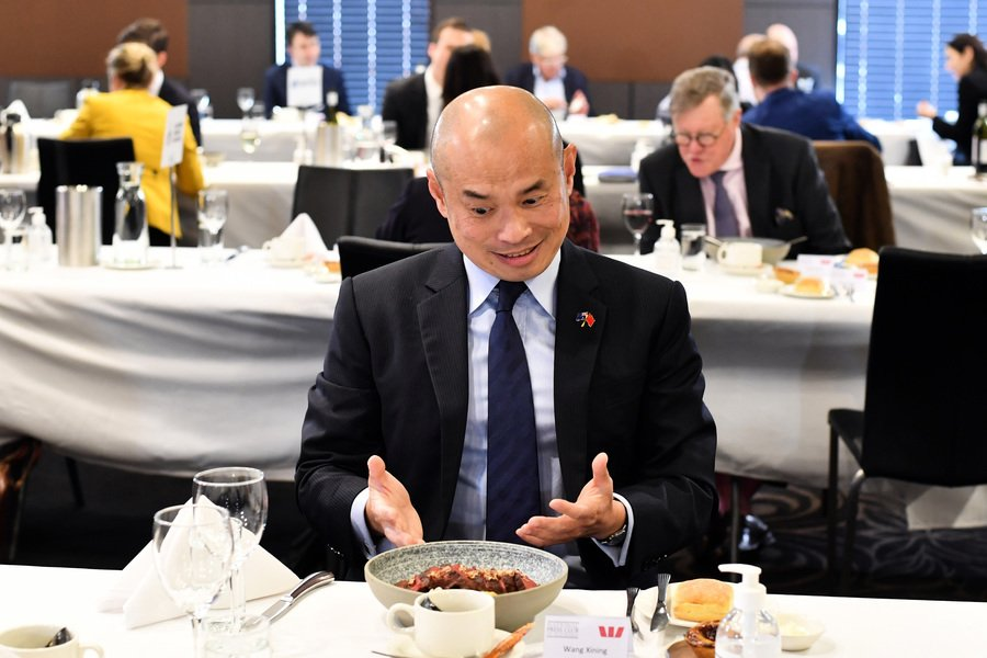 中共公使無奈罵澳洲人 分析:戰狼有挫折感