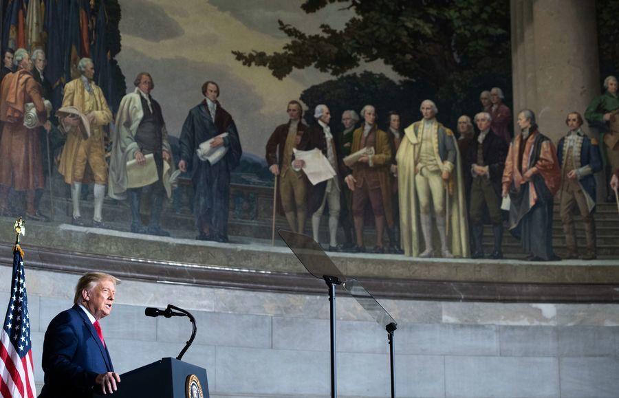 特朗普提倡愛國教育 反對批判種族理論宣傳