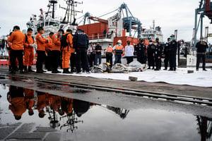 印尼航班墜海 當局已確認黑匣子位置