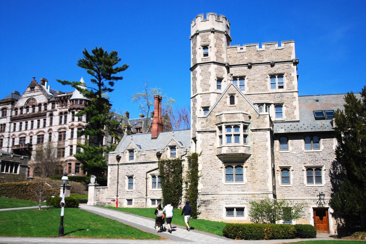 美國常春藤盟校普林斯頓大學。(謝凌/大紀元)