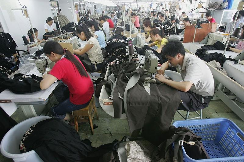 受瘟疫影響,珠三角工廠加工廠目前陷入困境。(Getty Images)