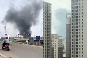 北京連續兩天出現火災 通州施工工地起火