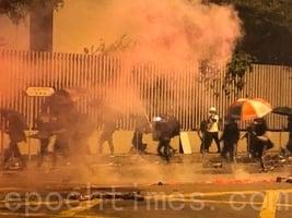 香港暴力升級 美官員譴責不合理使用武力