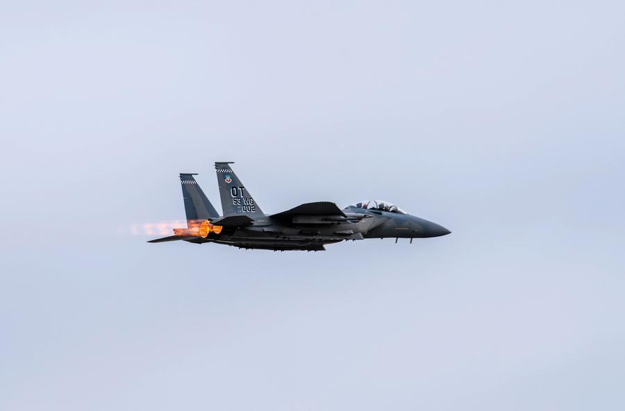 「雄鷹」復興 新F-15EX戰機參加大規模軍演