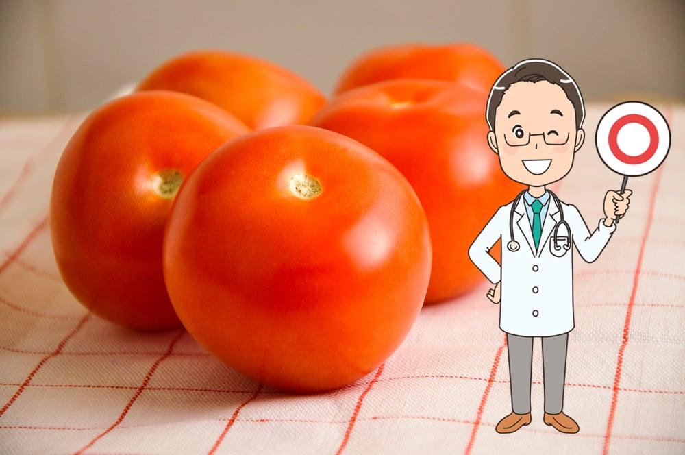 醫生蔡鋒博分享「番茄減肥法」,番茄營養高熱量低,用於減重很有效。(Shutterstock/大紀元製圖)