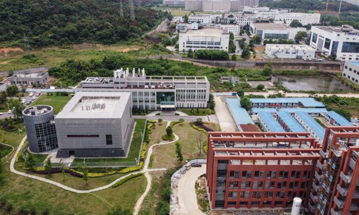 2020年5月13日,中國湖北省武漢市武漢病毒研究所園區內的P4實驗室。(Hector Retamal/AFP via Getty Images)