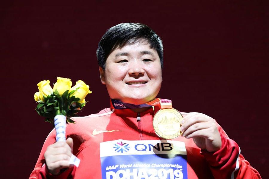 稱鉛球冠軍是「女漢子」 央視被網民抨擊