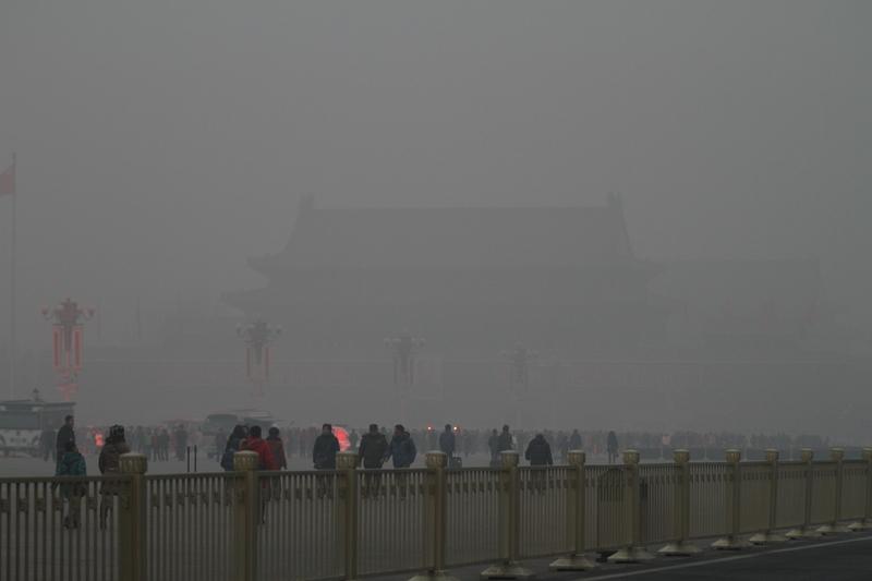 中國改革四十年,誰之功,誰之過,其實一目瞭然。圖為,北京天安門。(ChinaFotoPress/ChinaFotoPress via Getty Images)