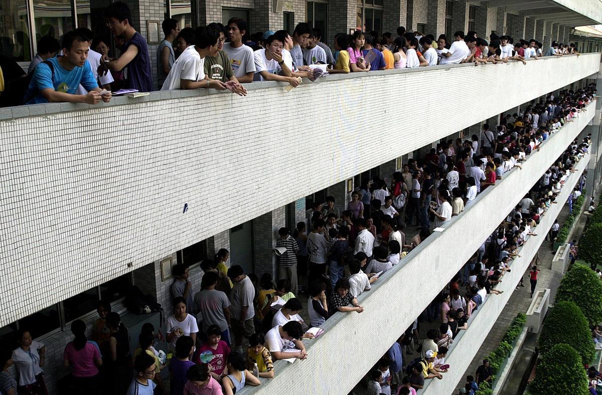 中共早已秘密在台灣校園裏佈局,鎖定下個世代的科技新鮮人與他們掌握的知識技術。(SAM YEH/AFP via Getty Images)