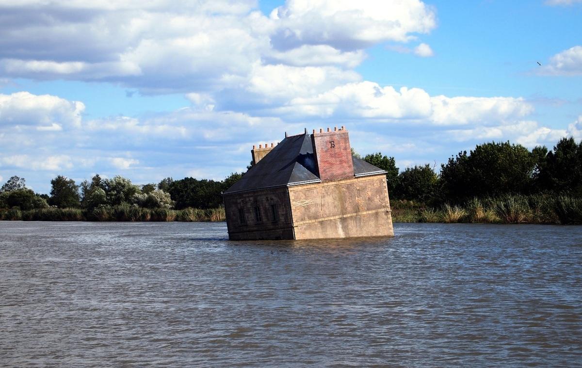 「羅亞爾河之屋」是位於法國羅亞爾河裏的一棟建築物。(Shutterstock)
