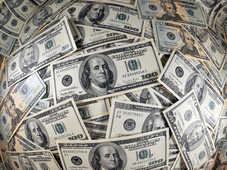 美國財政部日前公佈數據,儘管全球對美債需求反彈,但中國卻意外地連續第三個月下降,創下了14個月的新低點。(Getty Images)