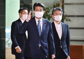 日本首相安倍晉三宣佈辭職