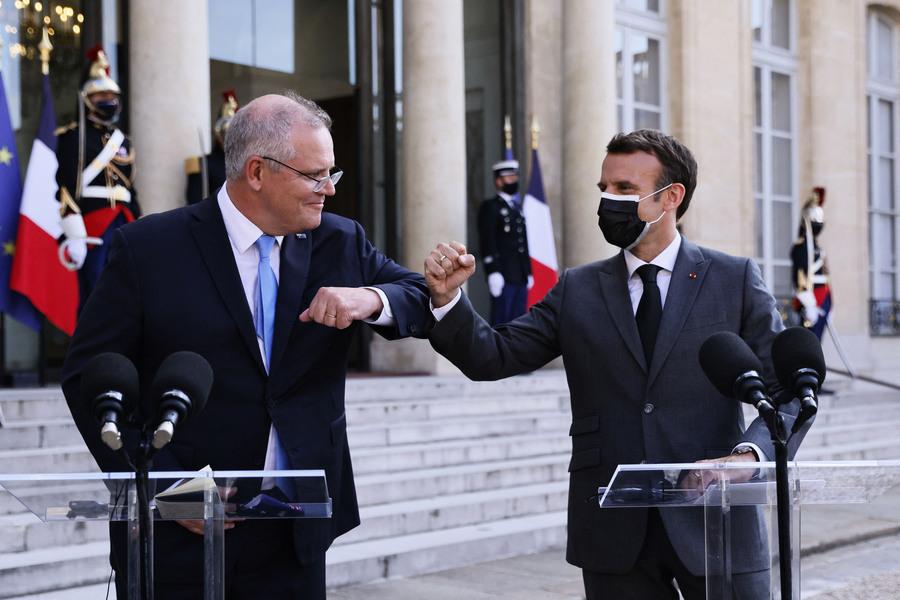 中澳貿易糾紛中 英法表示全力支持澳洲
