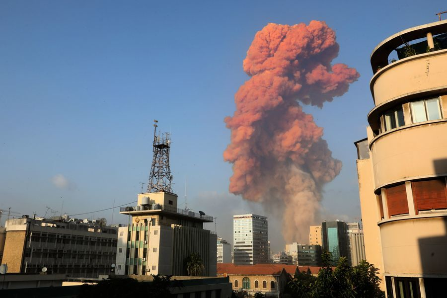 組圖:黎巴嫩發生大爆炸 至少四千人受傷