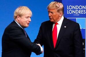 英首相宣佈封城 特朗普:治療不能比問題本身還糟