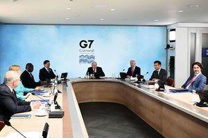 談及中國議題時G7一度切斷會議室網絡