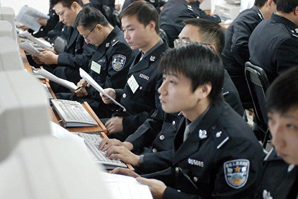近期中共加強對網絡的管控。圖為在中國武漢市舉辦的一場網警技術比賽。(大紀元資料室)