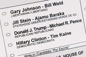 美大選倒數計時:11月1日最新民調和分佈圖