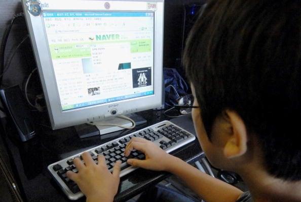 「五毛」或「五毛黨」是中共僱用的網絡宣傳隊伍,專門替中共賣命。(JUNG YEON-JE/AFP/Getty Images)