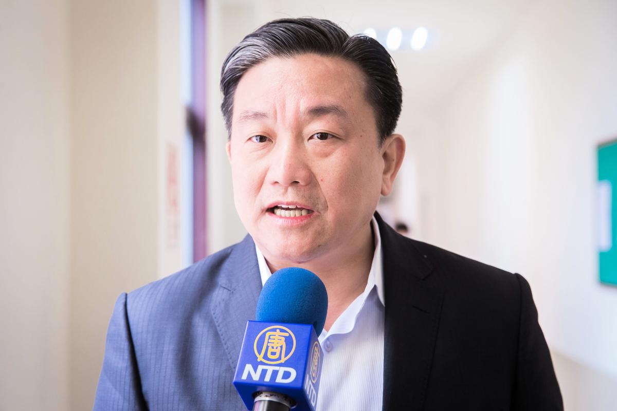 台灣立法委員王定宇資料圖(陳柏州/大紀元)