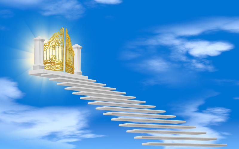 通向仙界之門。(fotolia)