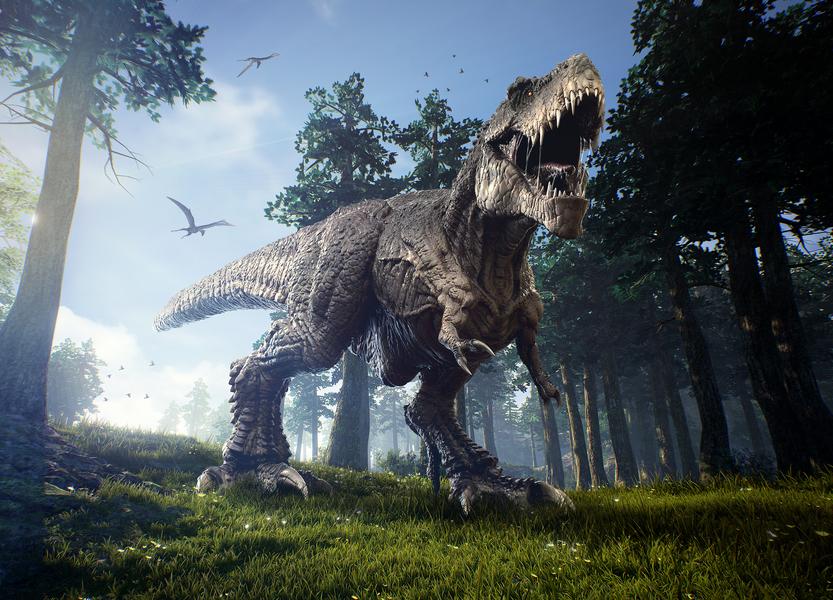 新發現:史前一種肉食恐龍比霸王龍大五倍