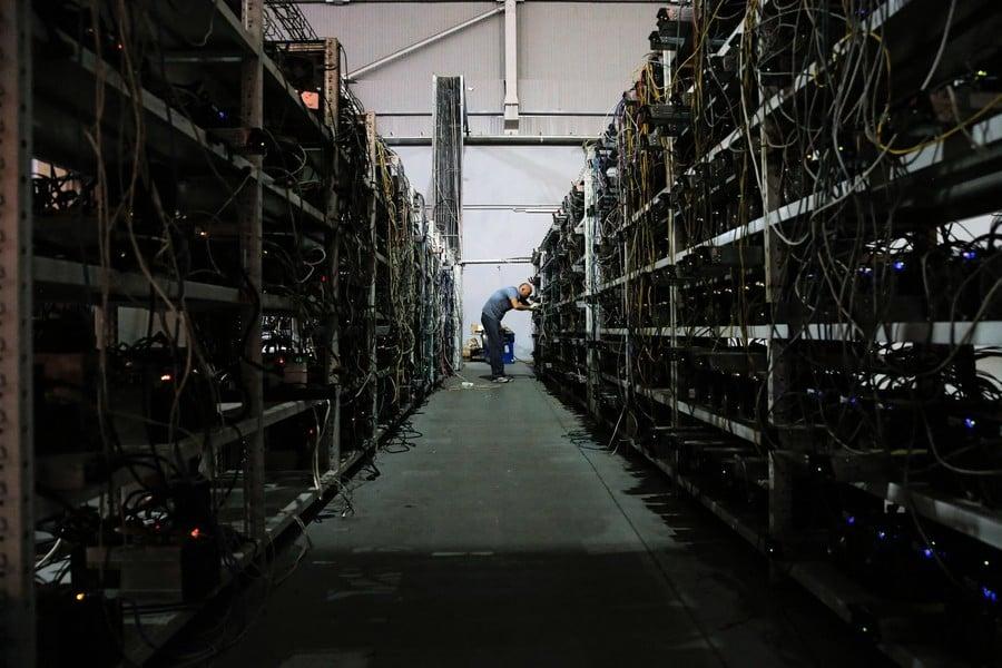中國嚴打加密貨幣挖礦及交易 比特幣價格暴跌