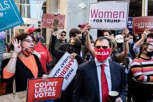 特朗普在賓州贏一官司 州務卿無權改收票期限