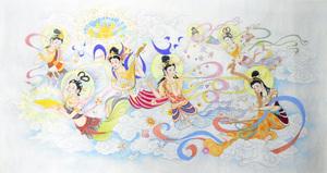 身陷囹圄的北京畫家教師孟慶霞