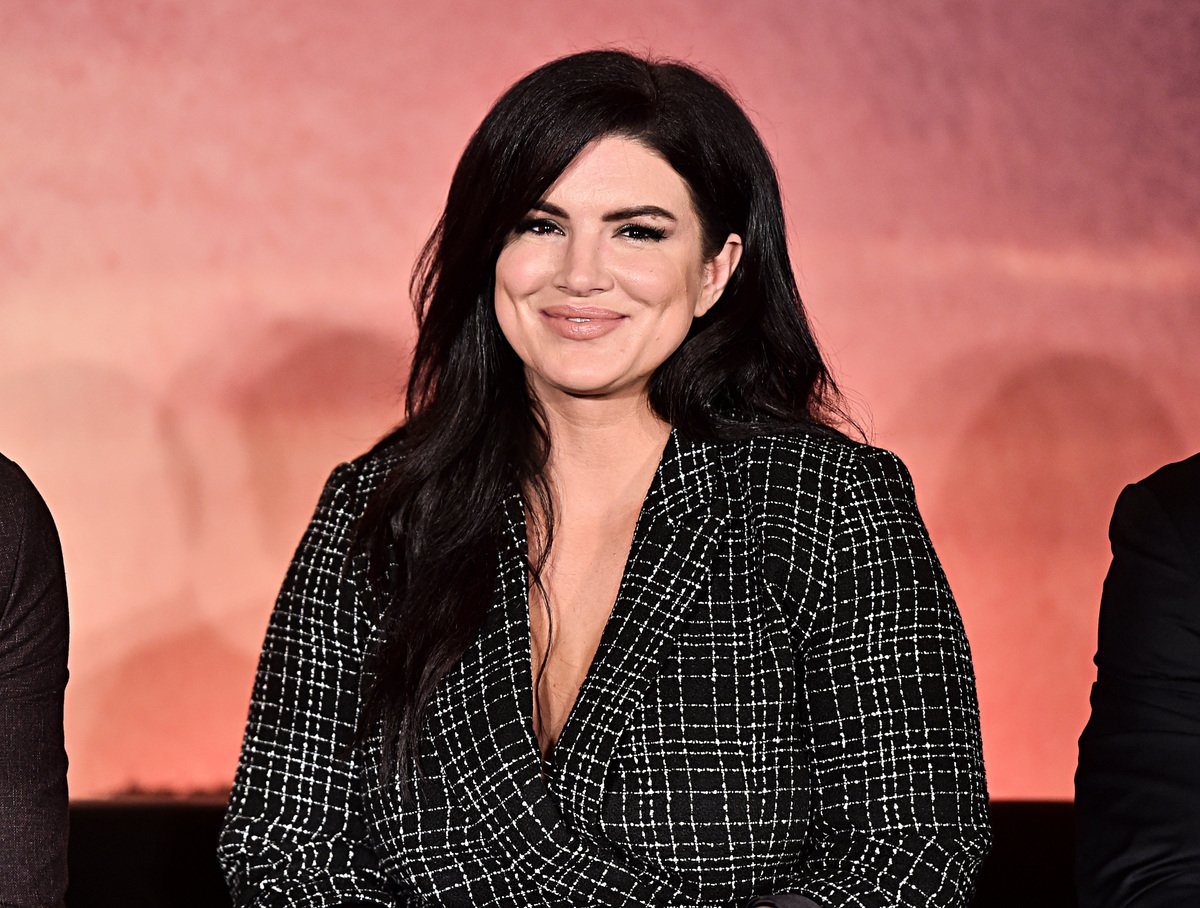 前綜合格鬥家、荷里活女演員吉娜·卡拉諾,2月10日遭迪士尼(Disney +)宣佈永不錄用。圖為盧卡斯影業推出的《曼達洛人》中的演員吉娜·卡拉諾(Gina Carano)在2019年10月19日出席迪士尼+全球媒體日活動。(Alberto E. Rodriguez/Getty Images for Disney)