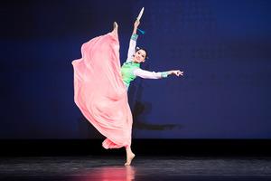 【圖攝】第九屆中國古典舞初賽少年女子組風采