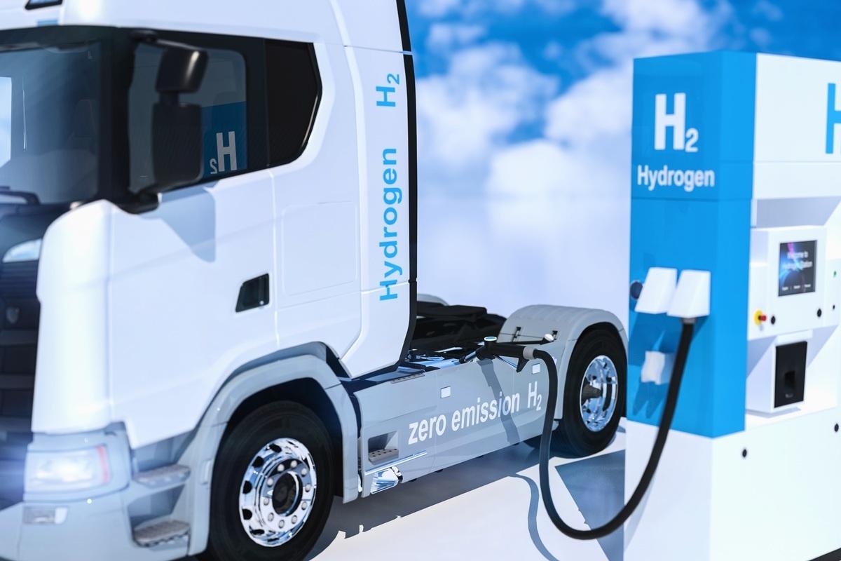 氫燃料示意圖。(ShutterStock)