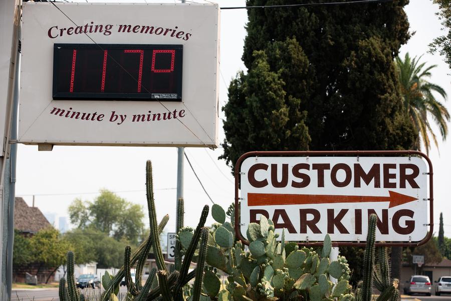 熱浪襲美國西部 鳳凰城高溫升至47ºC