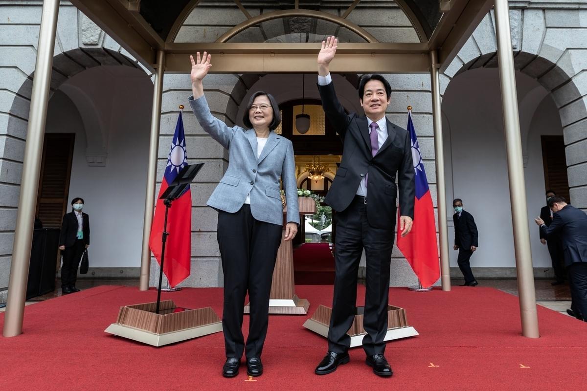 左起總統蔡英文、副總統賴清德。 (總統府提供)