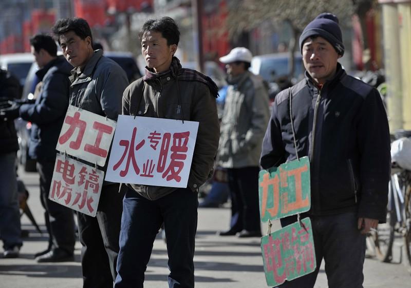 中國可能面臨嚴重的失業問題。資料圖。(Getty Images)