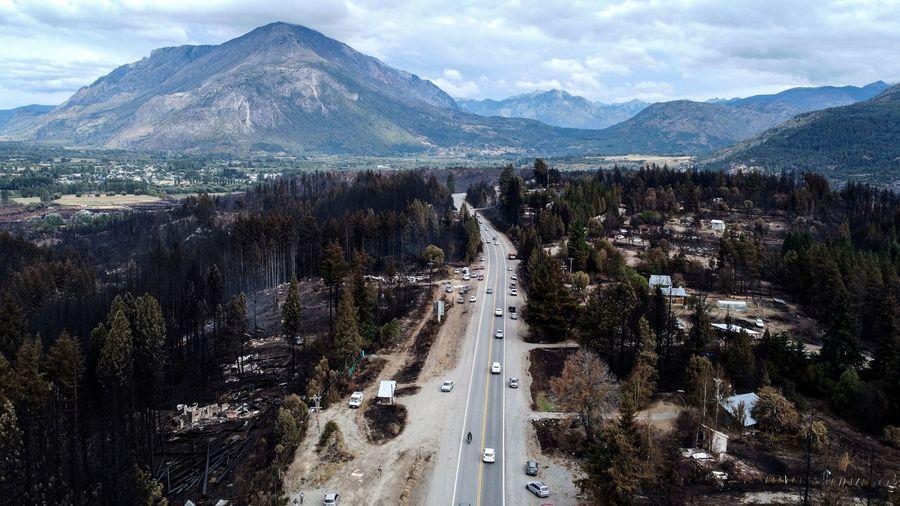 組圖:阿根廷森林大火後 民眾準備重建家園